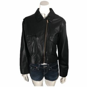 Marc by Marc Jacobs Genuine Leather Jacket M